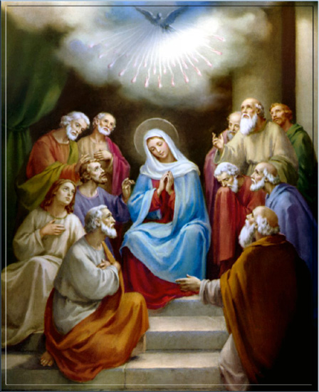 The Blessed Virgin Mary receives the Holy Ghost BVM_Pentecost_pdf_02