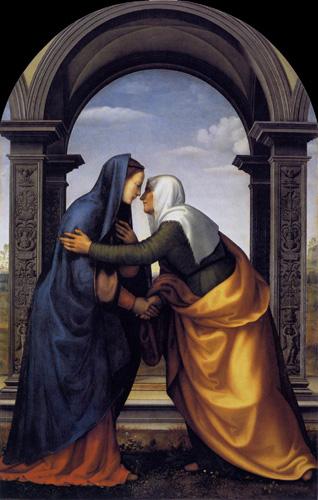 Visitazione delle Beata Vegine Maria dans immagini sacre Magnificat%203
