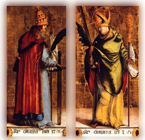 Sts. Cornelius and Cyprian.jpg (492×475)