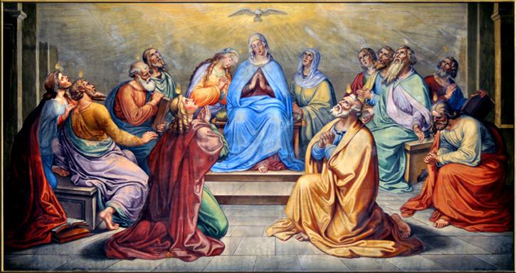 Kościół Chrystusowy mocą Ducha Świętego wypełnia swoje posłannictwo