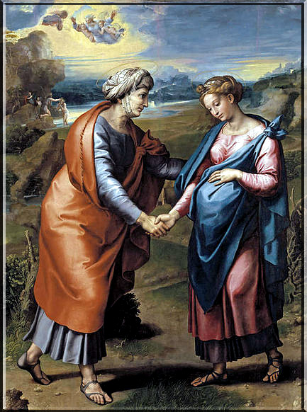 The Visitation of the Blessed Virgin Mary dans immagini sacre Visitation%20Weninger